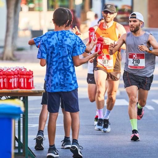 avituallamiento - half marathon magaluf , Avituallamientos - Media maratón Mallorca (Magaluf)