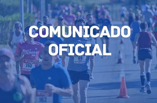 Comunicado oficial de la Half Marathon Magaluf, la mejor Media maratón en Mallorca
